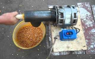 Как лущить кукурузу.
