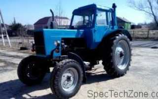 Габариты трактора. Габаритные размеры МТЗ 82 с большой и малой кабиной